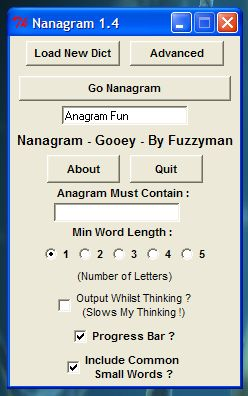 Product picture Nanagram Standalone Executable